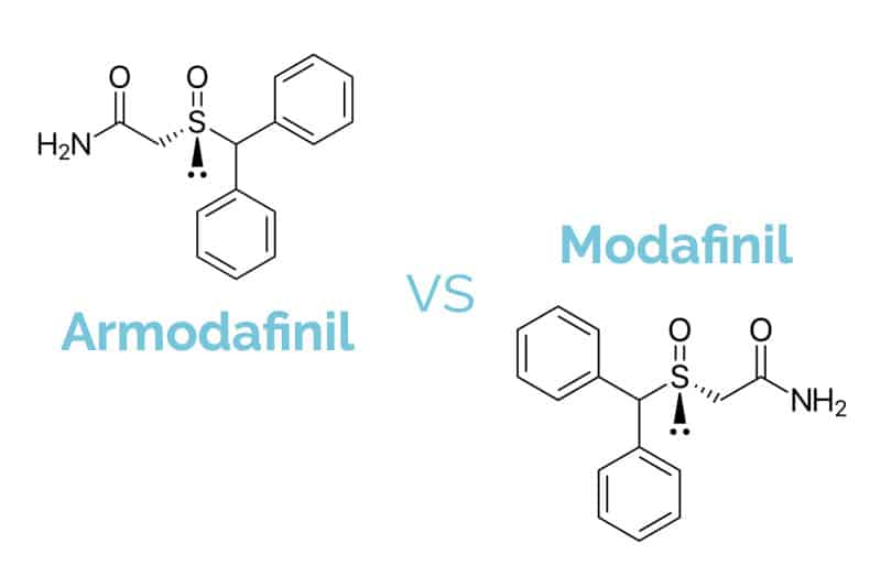 Armodafinil vs Modafinil - Is Nuvigil Different From